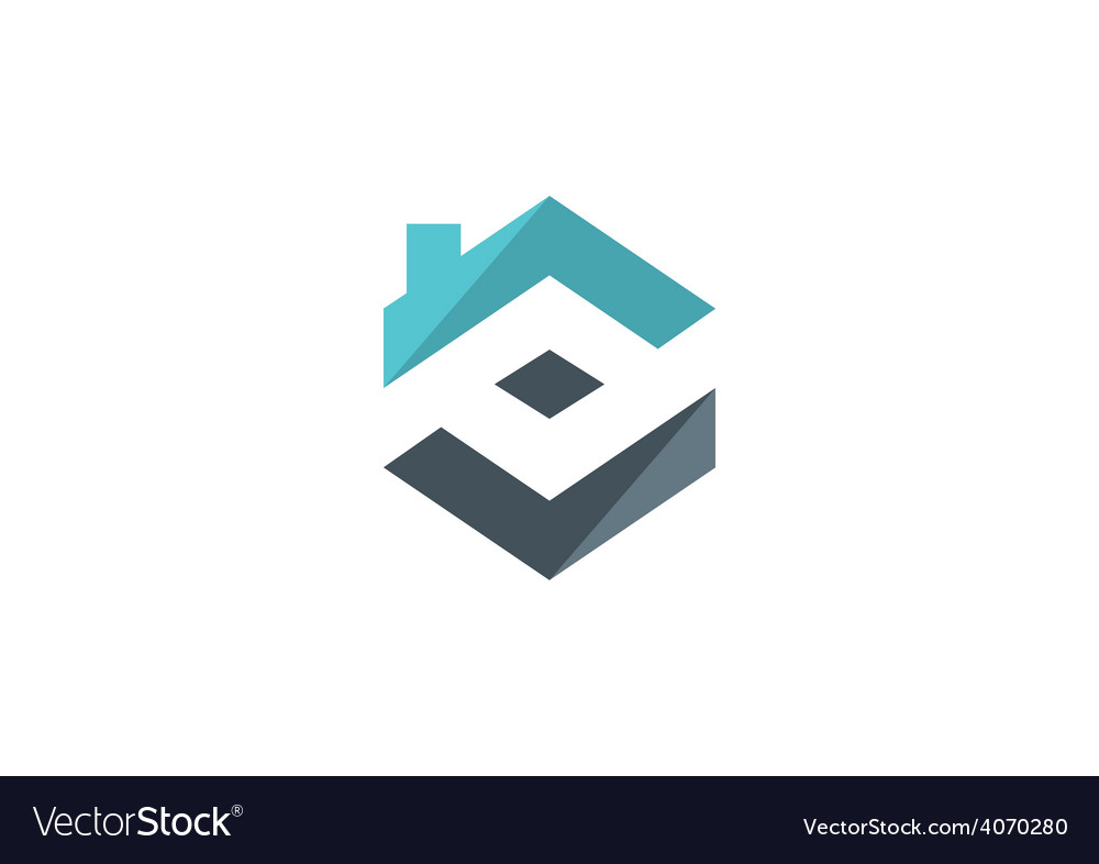 Home realty construction logo vector | Price: 1 Credit (USD $1)