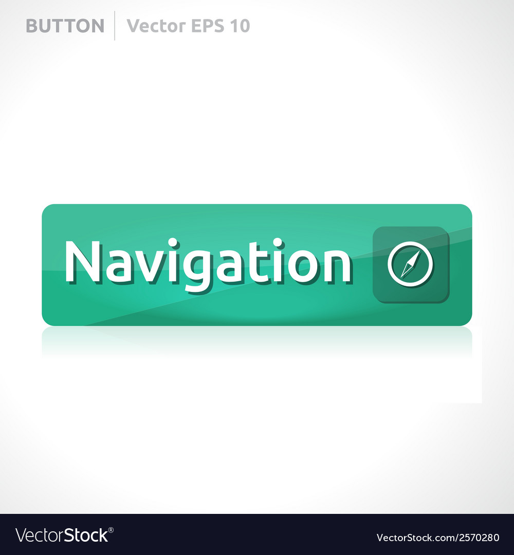 Navigation button template vector | Price: 1 Credit (USD $1)