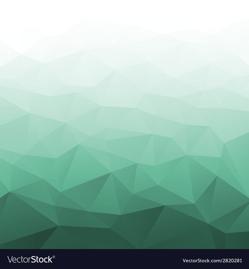 Abstract gradient green geometric background vector | Price: 1 Credit (USD $1)