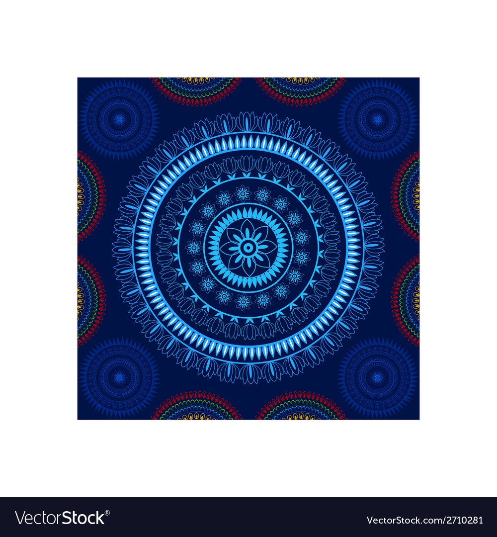 Beautiful mandala design vector | Price: 1 Credit (USD $1)