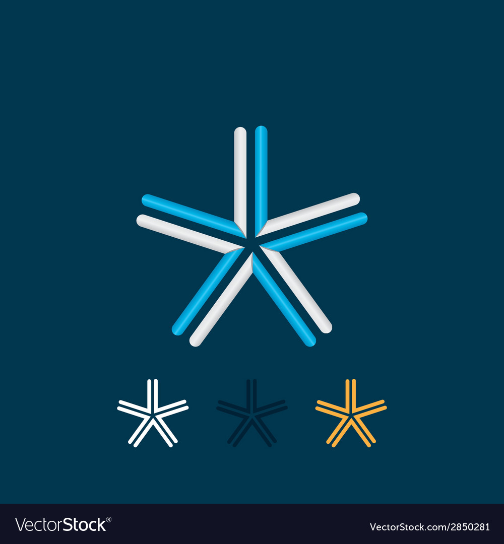 Five-pointed star vector | Price: 1 Credit (USD $1)