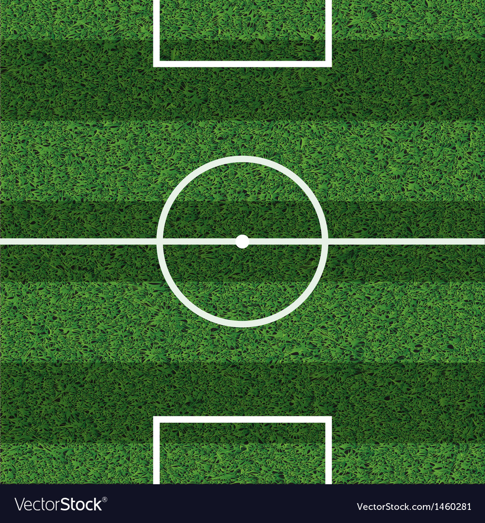Footbal field vector | Price: 1 Credit (USD $1)