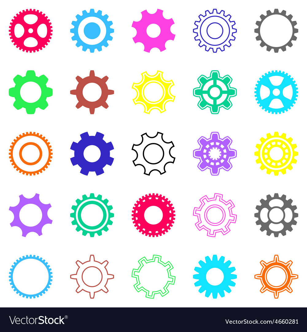 Gear wheels vector | Price: 1 Credit (USD $1)