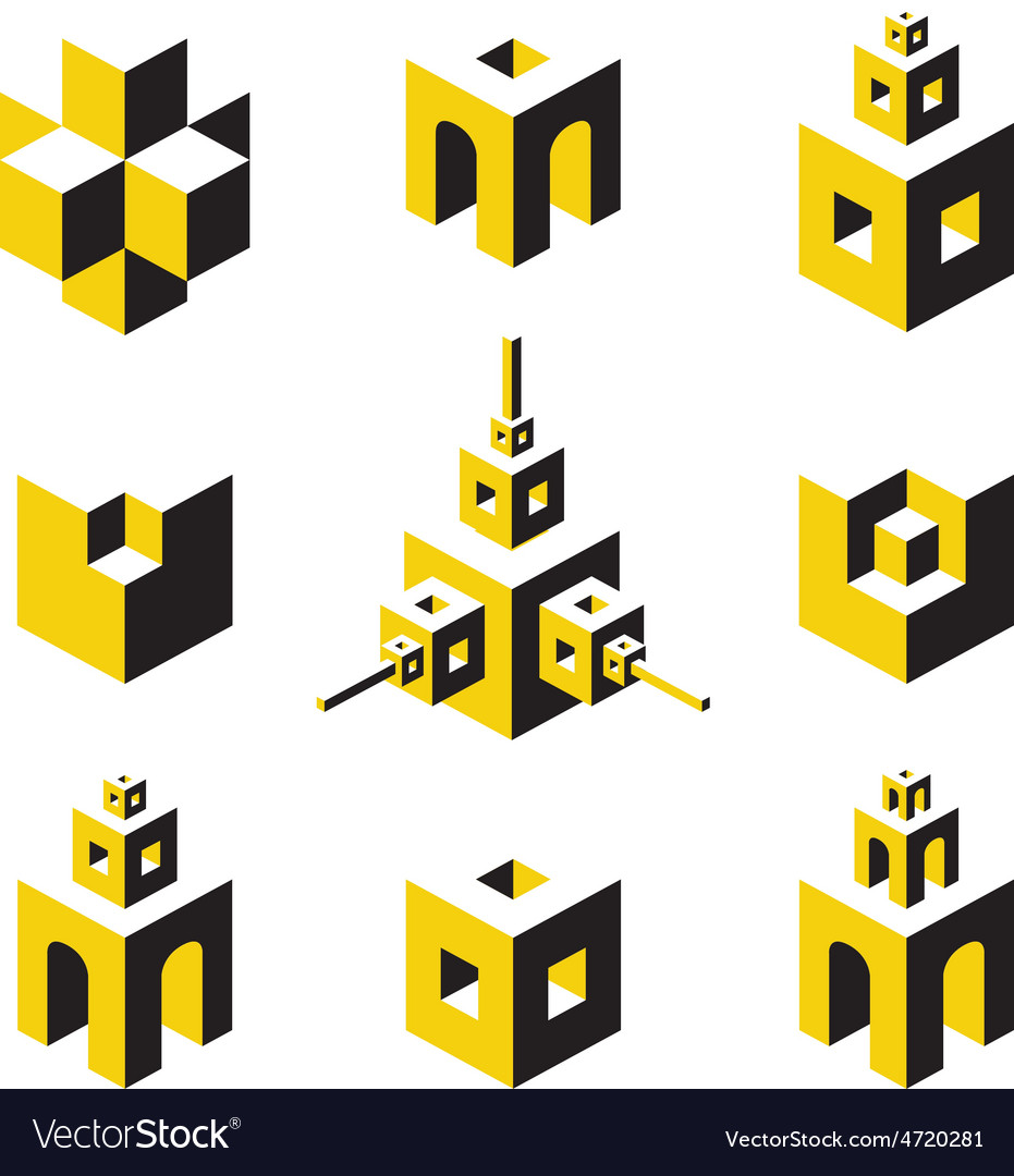 Logo set vector | Price: 1 Credit (USD $1)