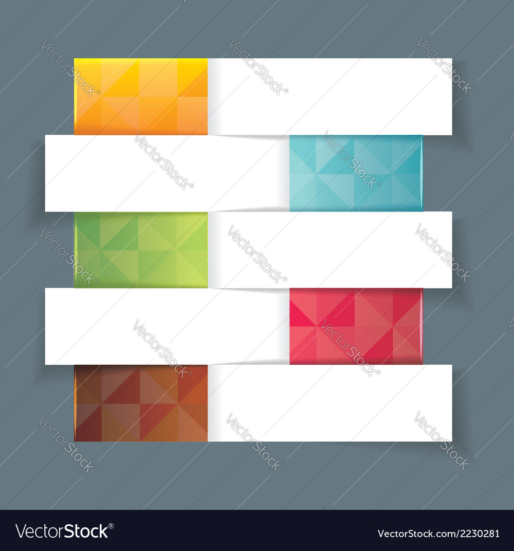 Modern design template horisontal banners vector | Price: 1 Credit (USD $1)