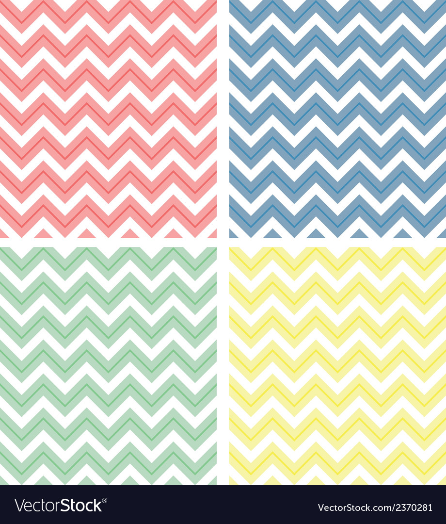 Pastel colored chevron pattern vector | Price: 1 Credit (USD $1)