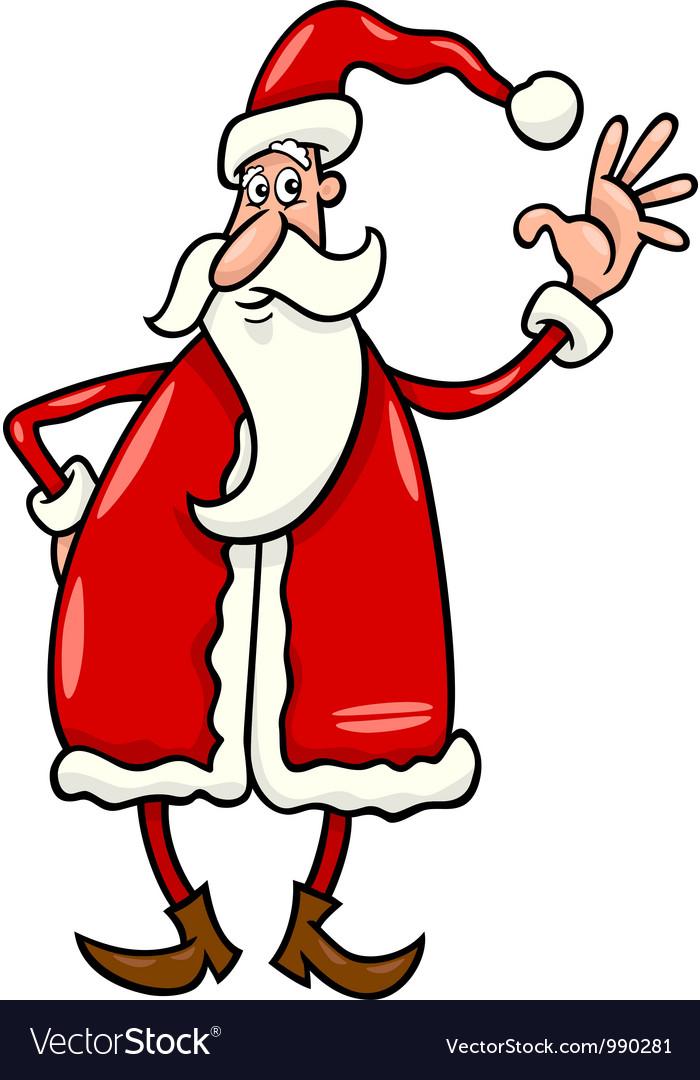 Santa claus cartoon vector   Price: 3 Credit (USD $3)