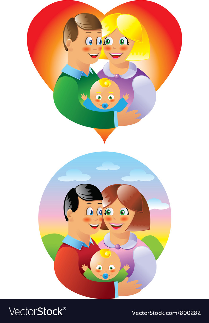 Family vector | Price: 3 Credit (USD $3)