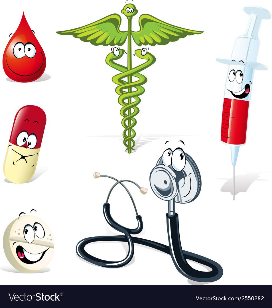 Medical symbols vector | Price: 1 Credit (USD $1)