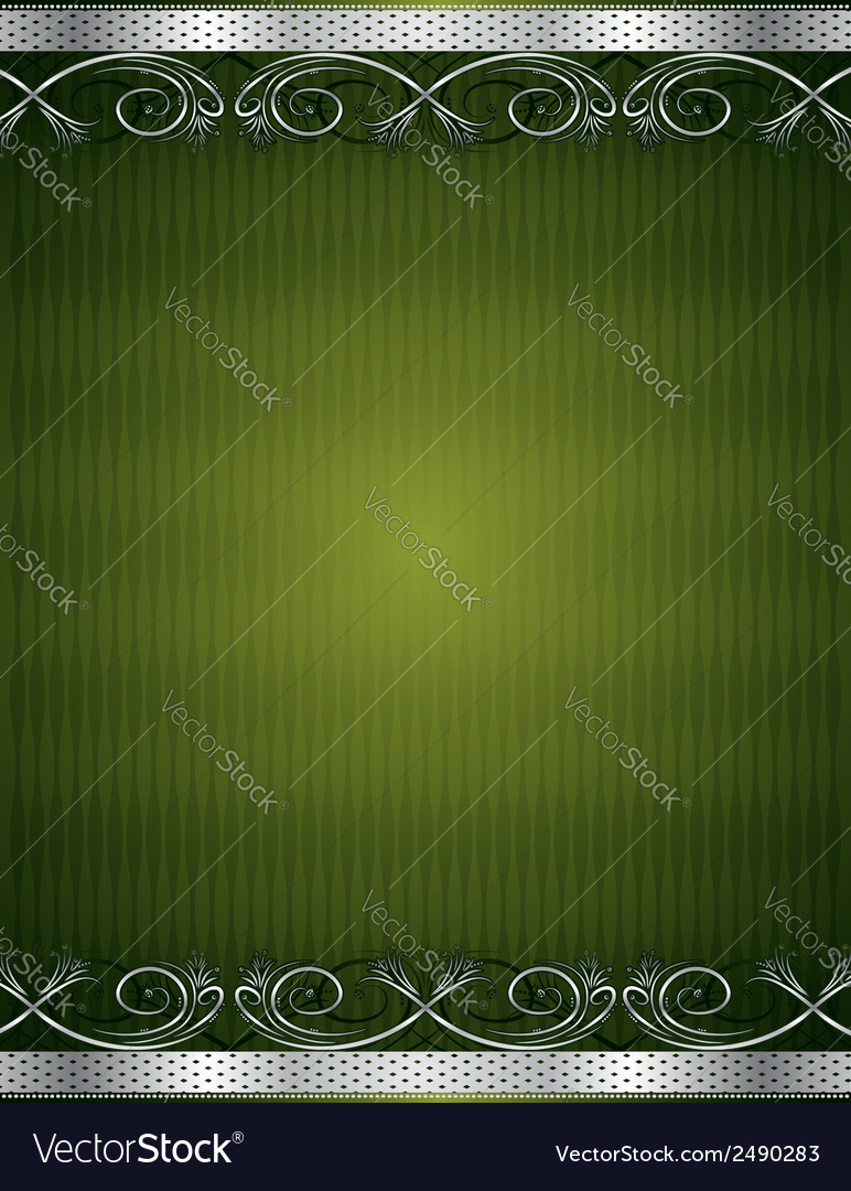 Green antique background vector | Price: 1 Credit (USD $1)