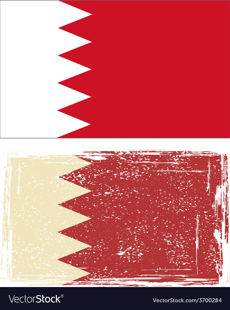 Bahrain grunge flag vector   Price: 1 Credit (USD $1)