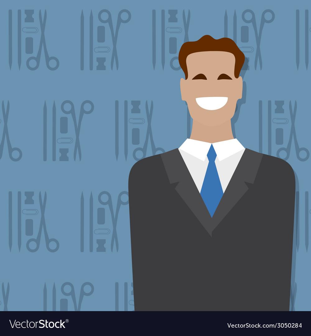 Businessman people occupation vector | Price: 1 Credit (USD $1)