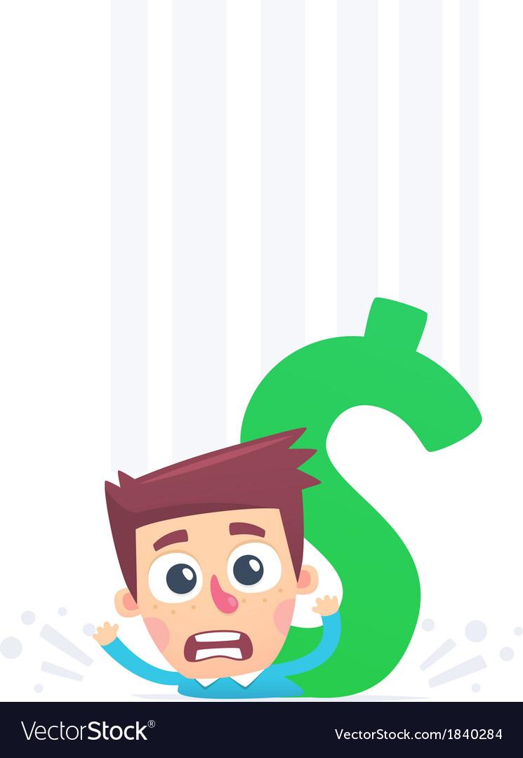 Non returnable big debts vector   Price: 1 Credit (USD $1)