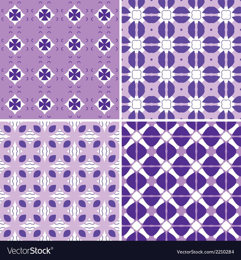 Seamless pattern set vector   Price: 1 Credit (USD $1)