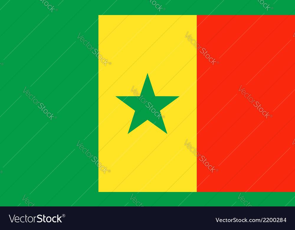 Senegal vector | Price: 1 Credit (USD $1)