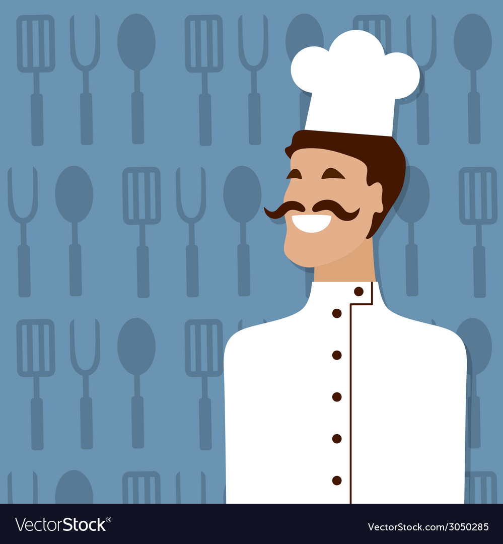 Cook people occupation vector | Price: 1 Credit (USD $1)