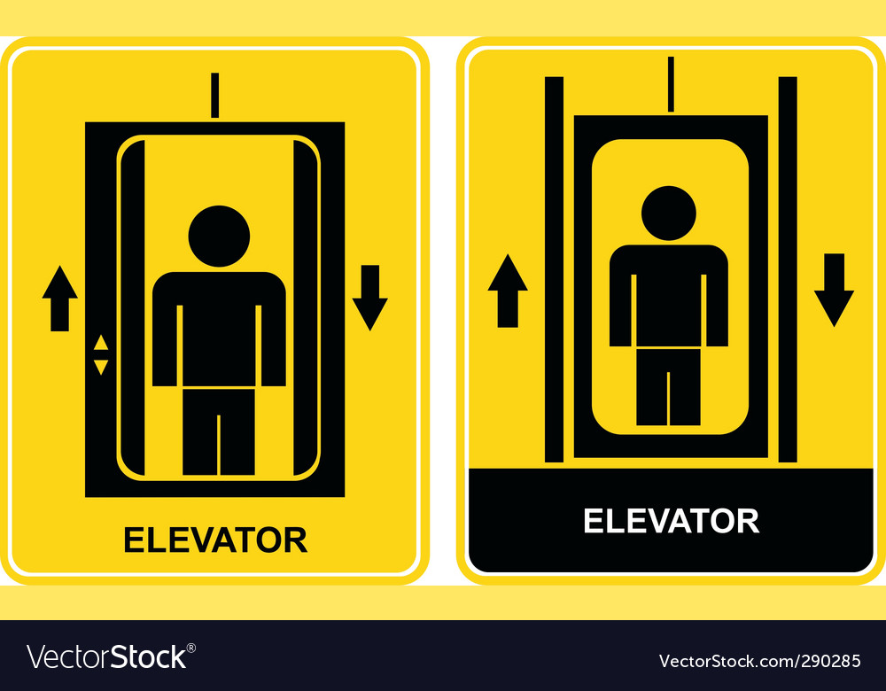Elevator icon vector   Price: 1 Credit (USD $1)