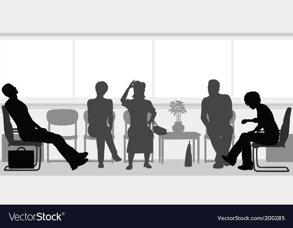 Waiting room vector | Price: 1 Credit (USD $1)