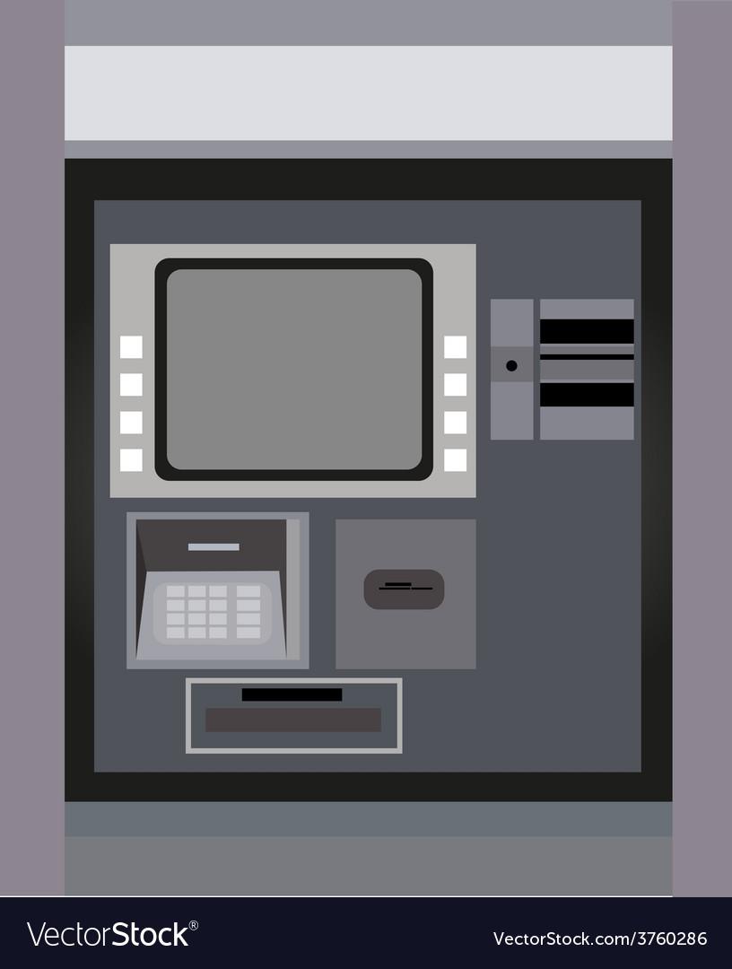 Atm machine vector | Price: 3 Credit (USD $3)