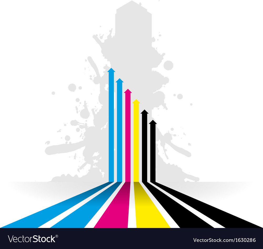Coloured line strip background vector | Price: 1 Credit (USD $1)