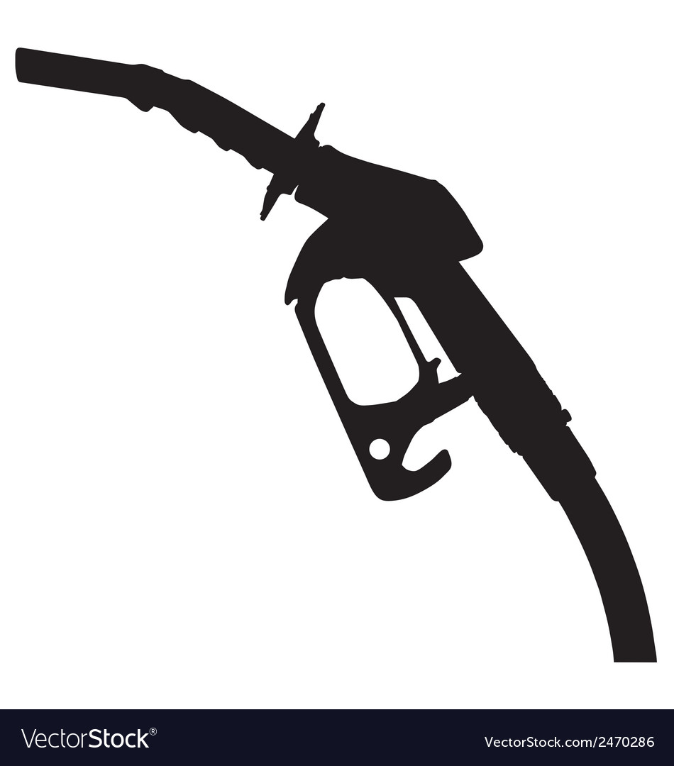 Gas pump nozzle vector | Price: 1 Credit (USD $1)
