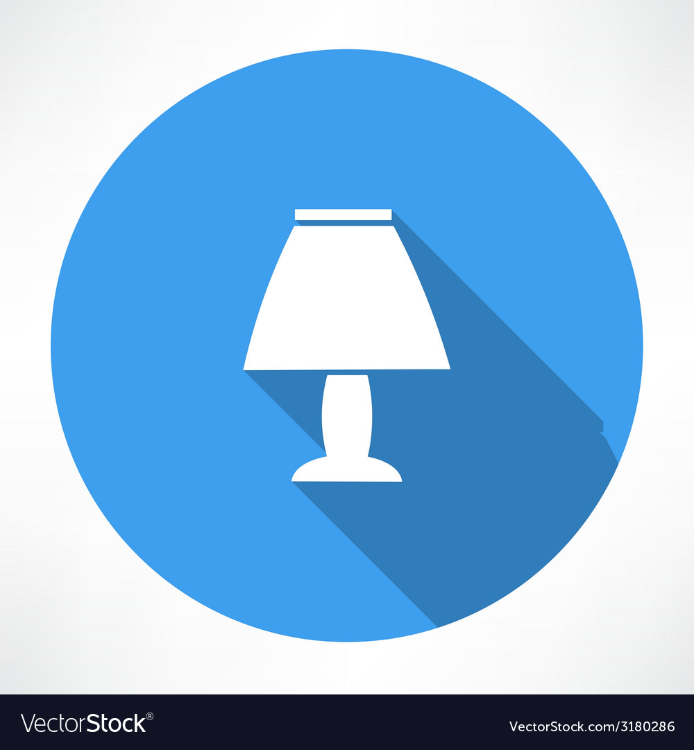 Night lamp icon vector | Price: 1 Credit (USD $1)