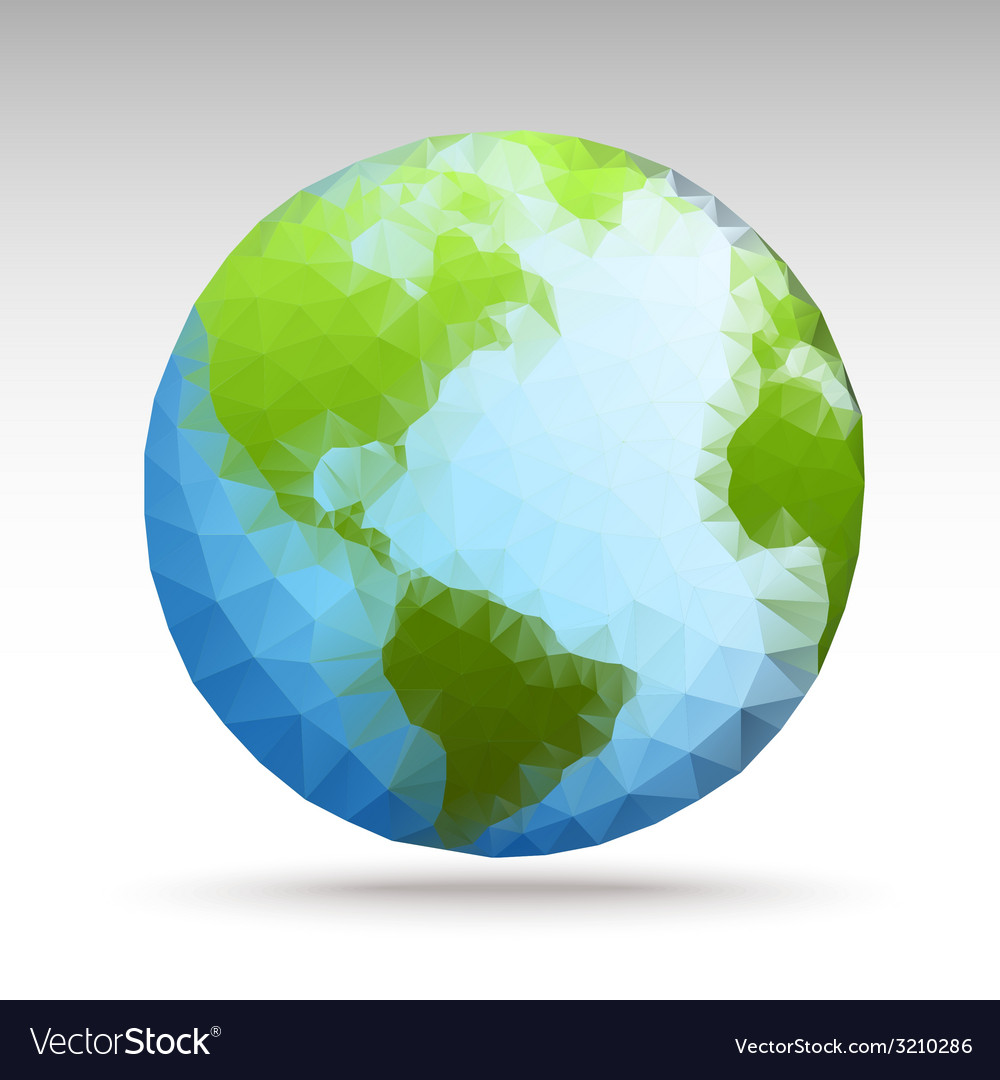 Polygonworld02 vector | Price: 1 Credit (USD $1)