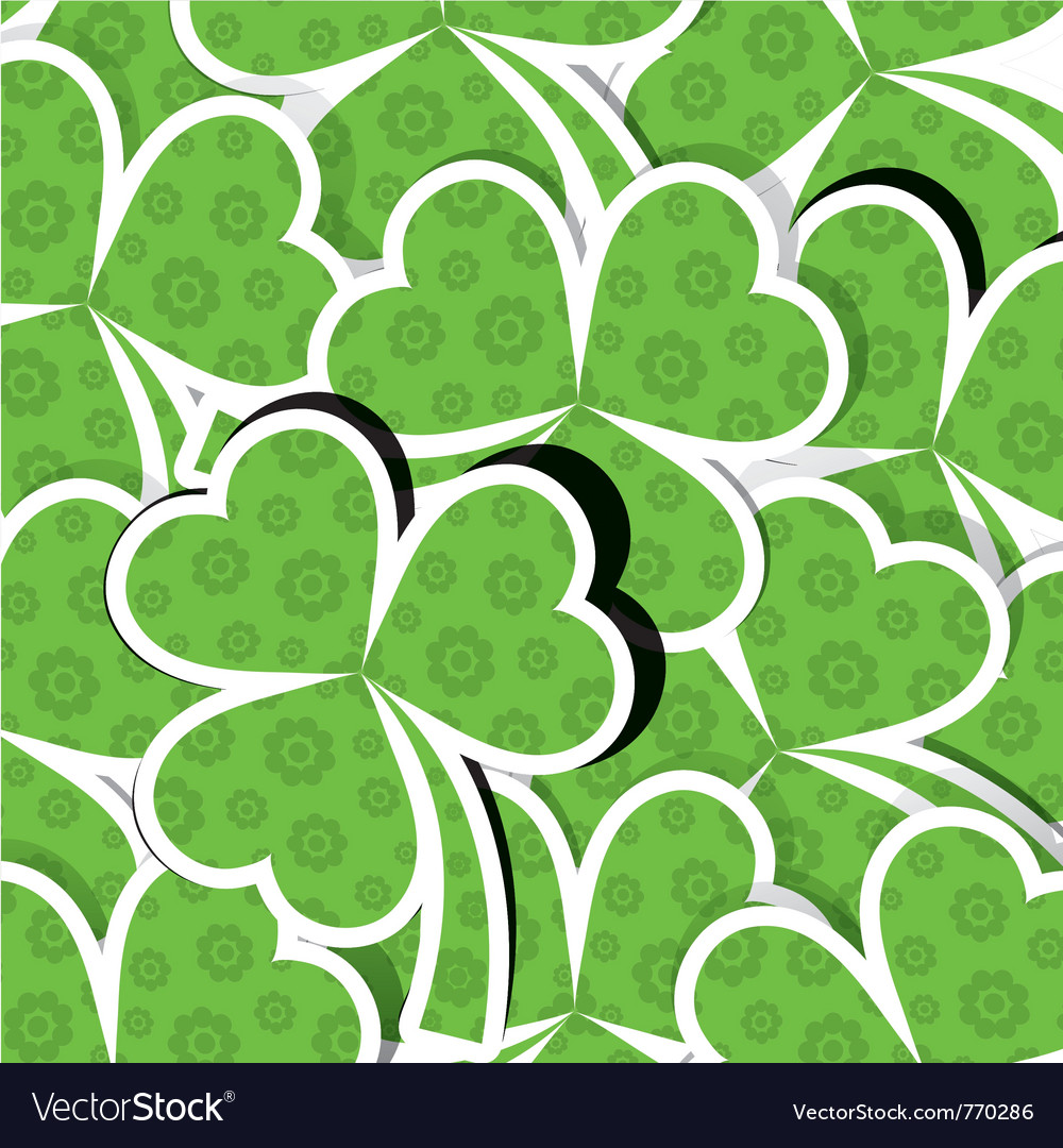 Template st patricks day pattern vector | Price: 1 Credit (USD $1)
