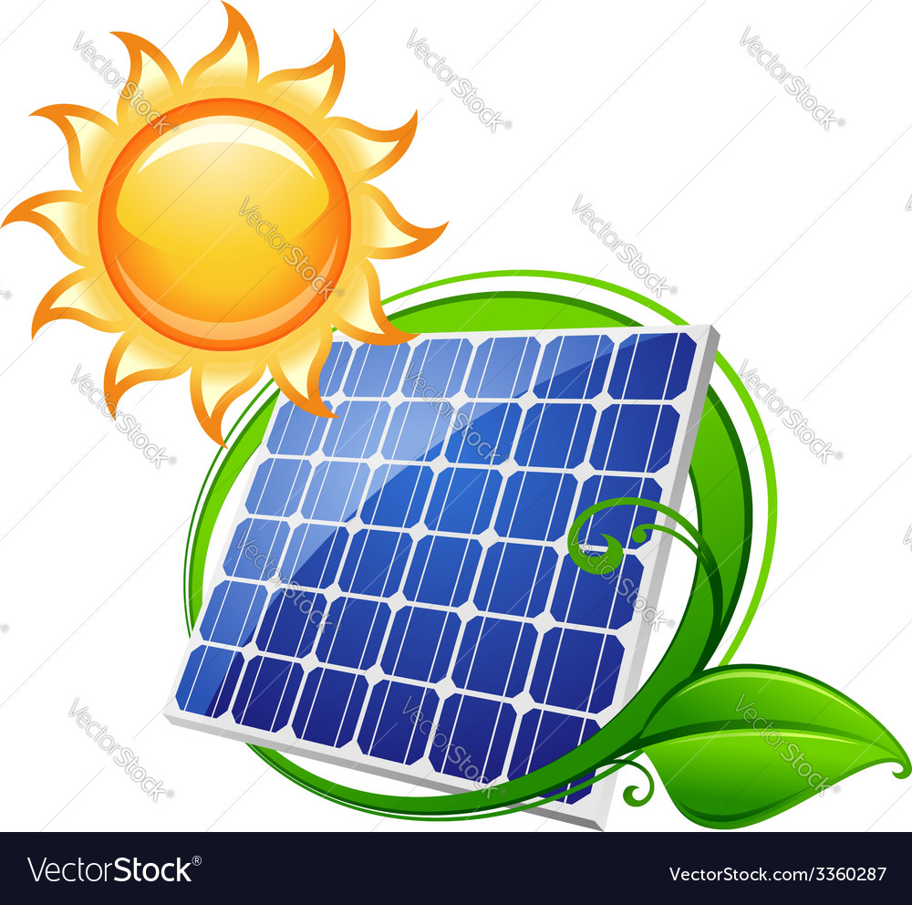 Solar panel or battery vector | Price: 1 Credit (USD $1)