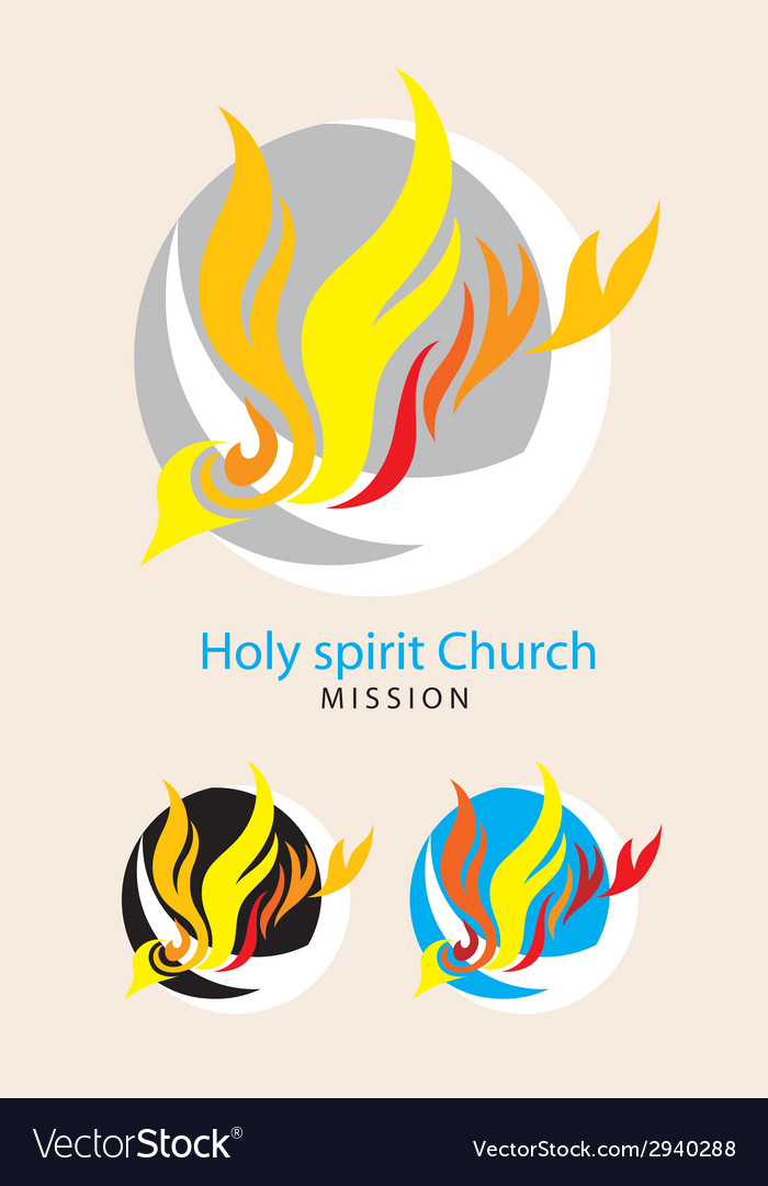 Holy spirit mission vector | Price: 1 Credit (USD $1)