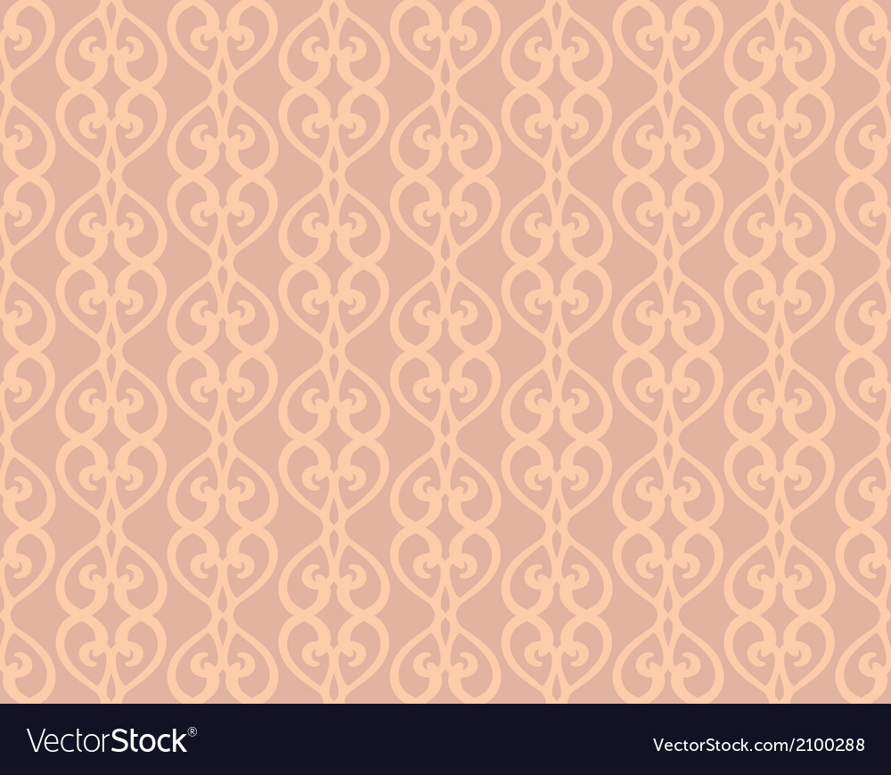 Pink vintage forged lacing seamless pattern vector | Price: 1 Credit (USD $1)