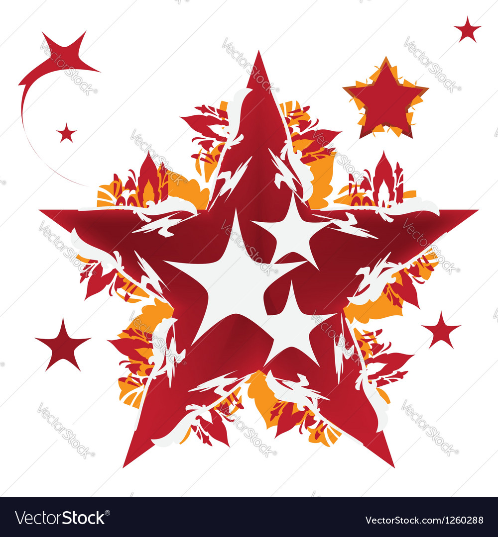 Star design vector | Price: 1 Credit (USD $1)