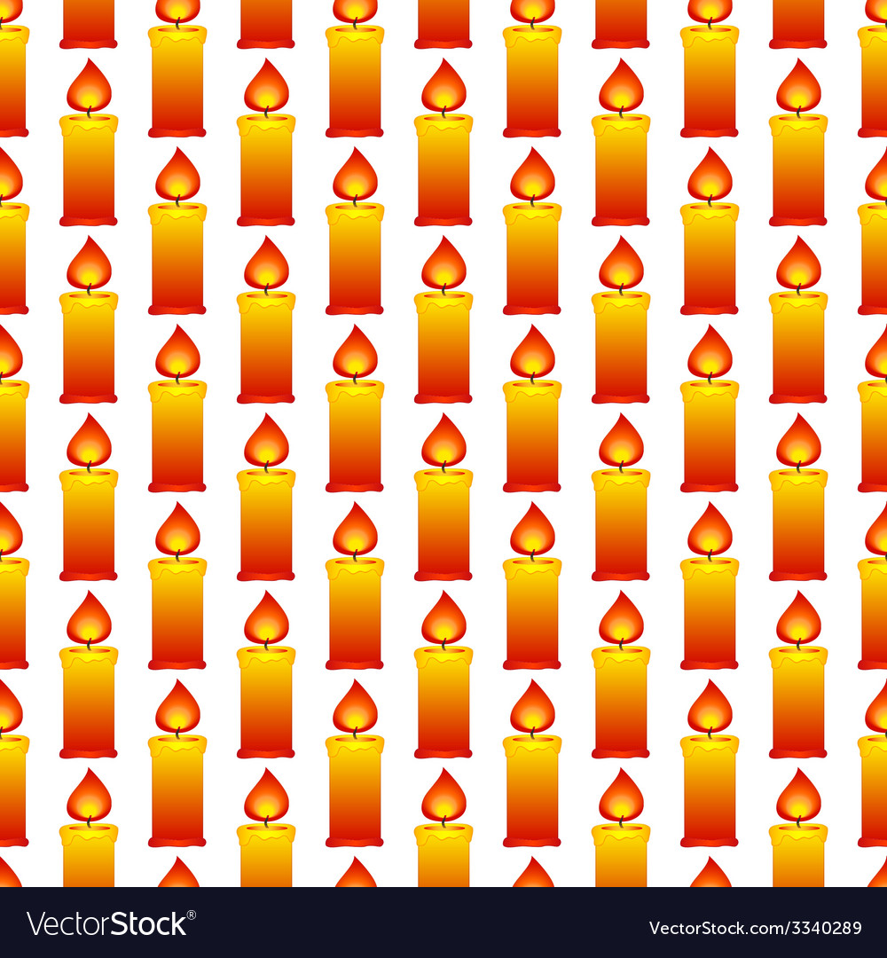Candles pattern vector | Price: 1 Credit (USD $1)