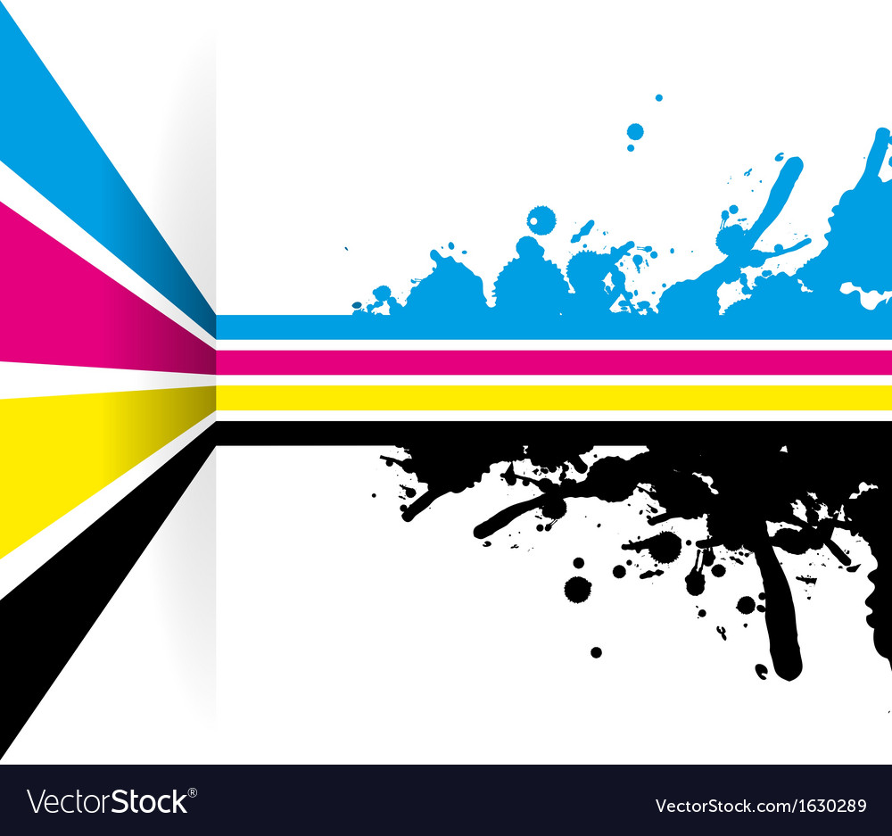 Cmyk strip background vector | Price: 1 Credit (USD $1)