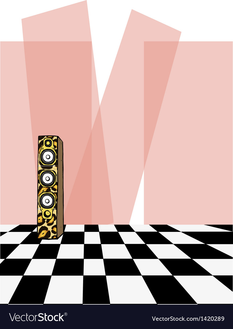Retro dancefloor background vector | Price: 1 Credit (USD $1)
