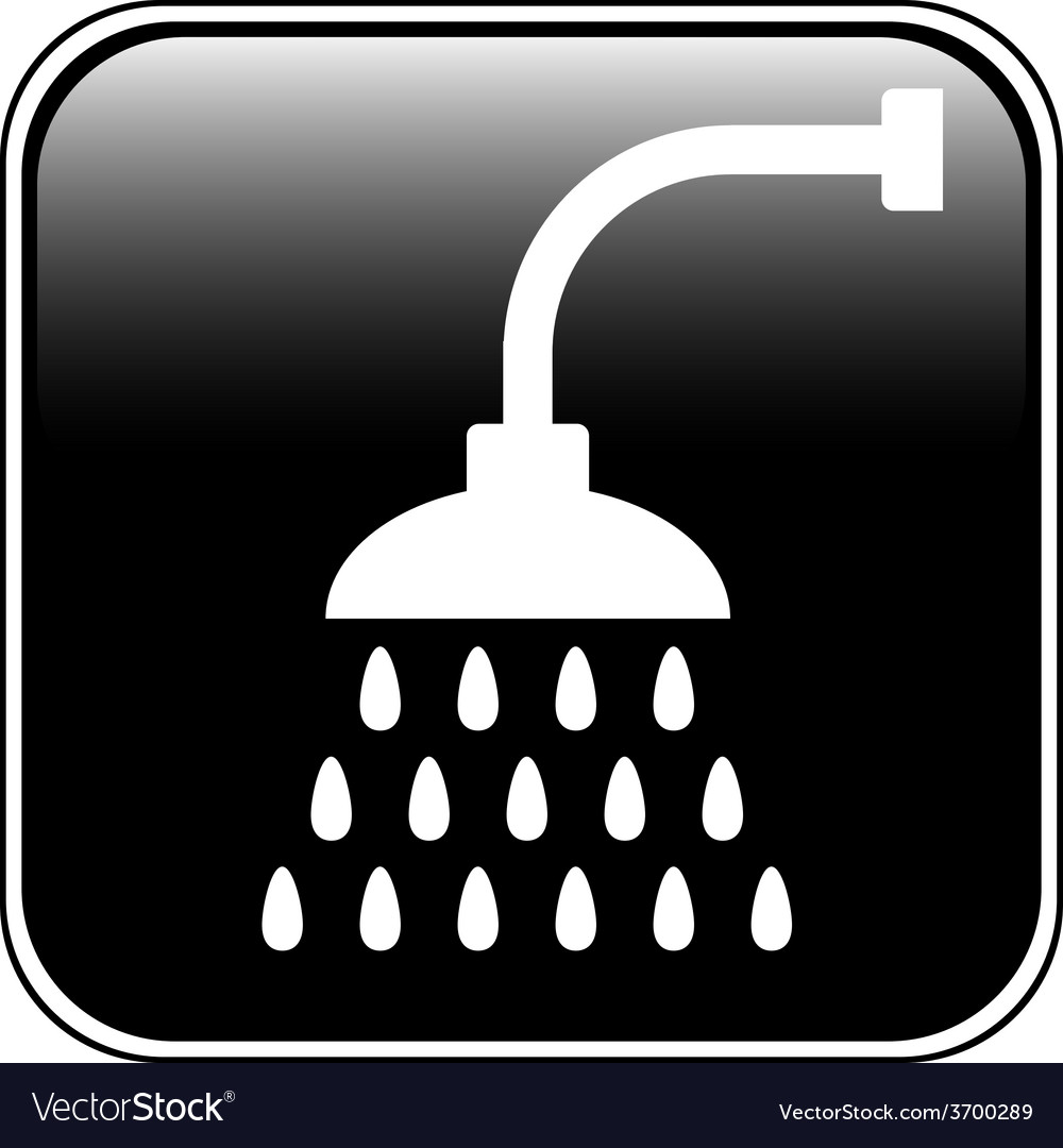 Shower icon vector | Price: 1 Credit (USD $1)