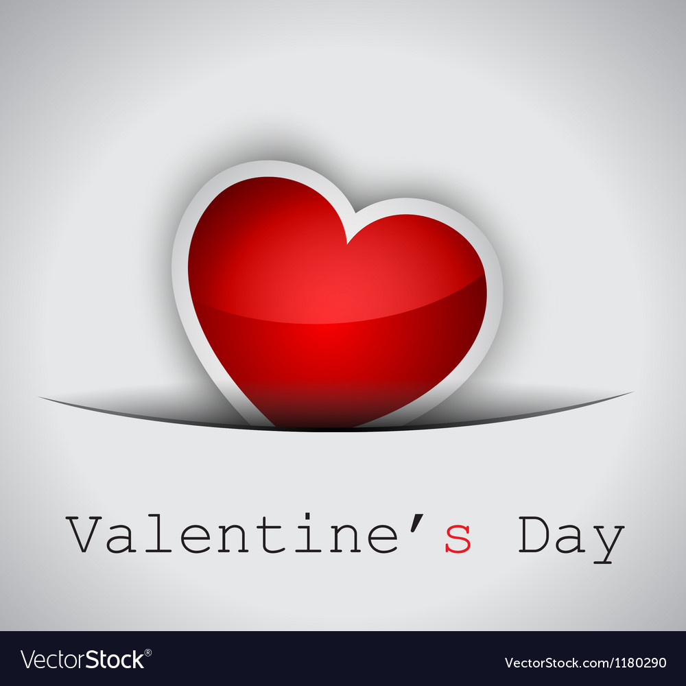 Elegant valentines day background vector | Price: 1 Credit (USD $1)