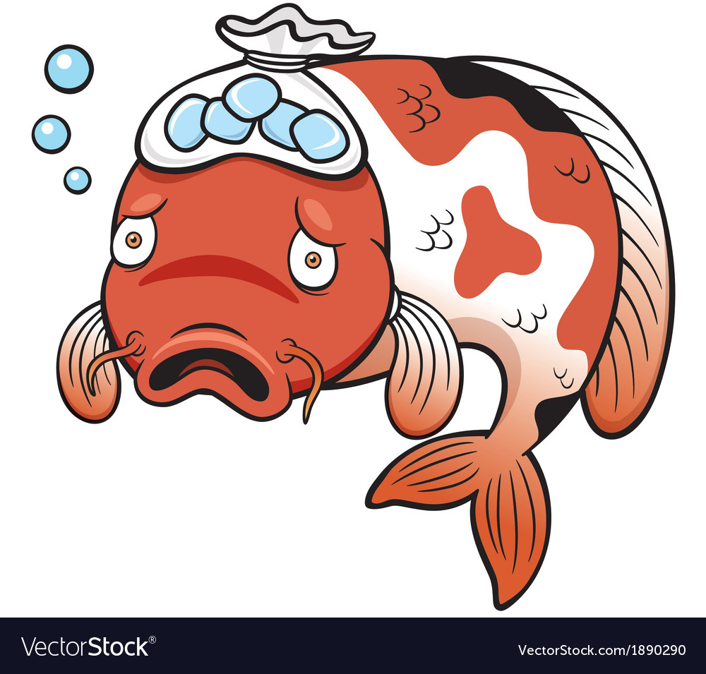 Fish sick vector | Price: 1 Credit (USD $1)