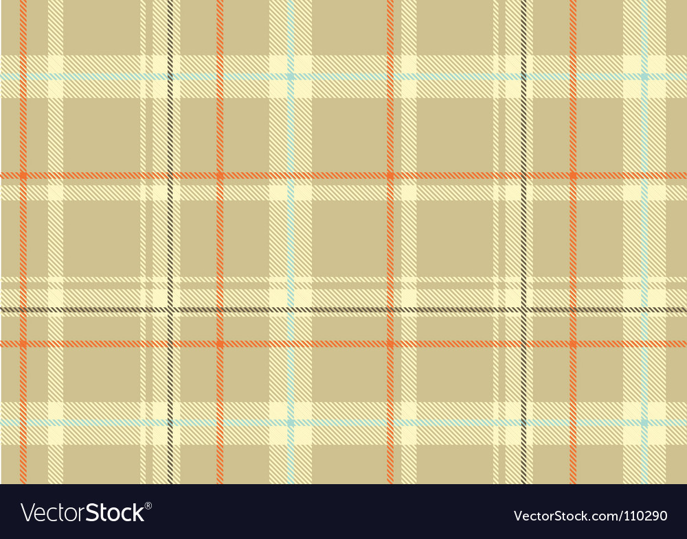 Scottish plaid vector | Price: 1 Credit (USD $1)