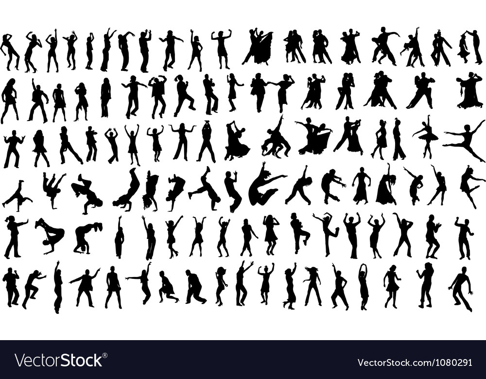 Dansers vector | Price: 1 Credit (USD $1)