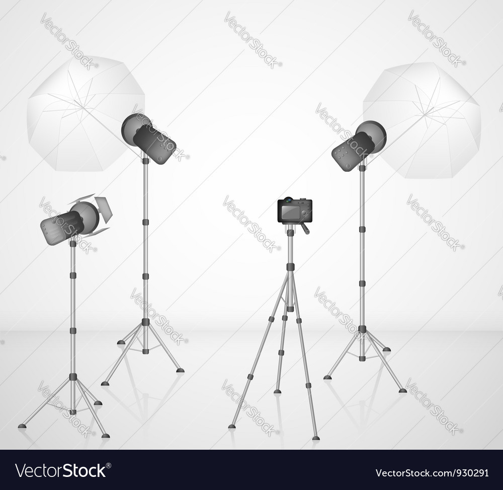 Photo studio vector | Price: 1 Credit (USD $1)