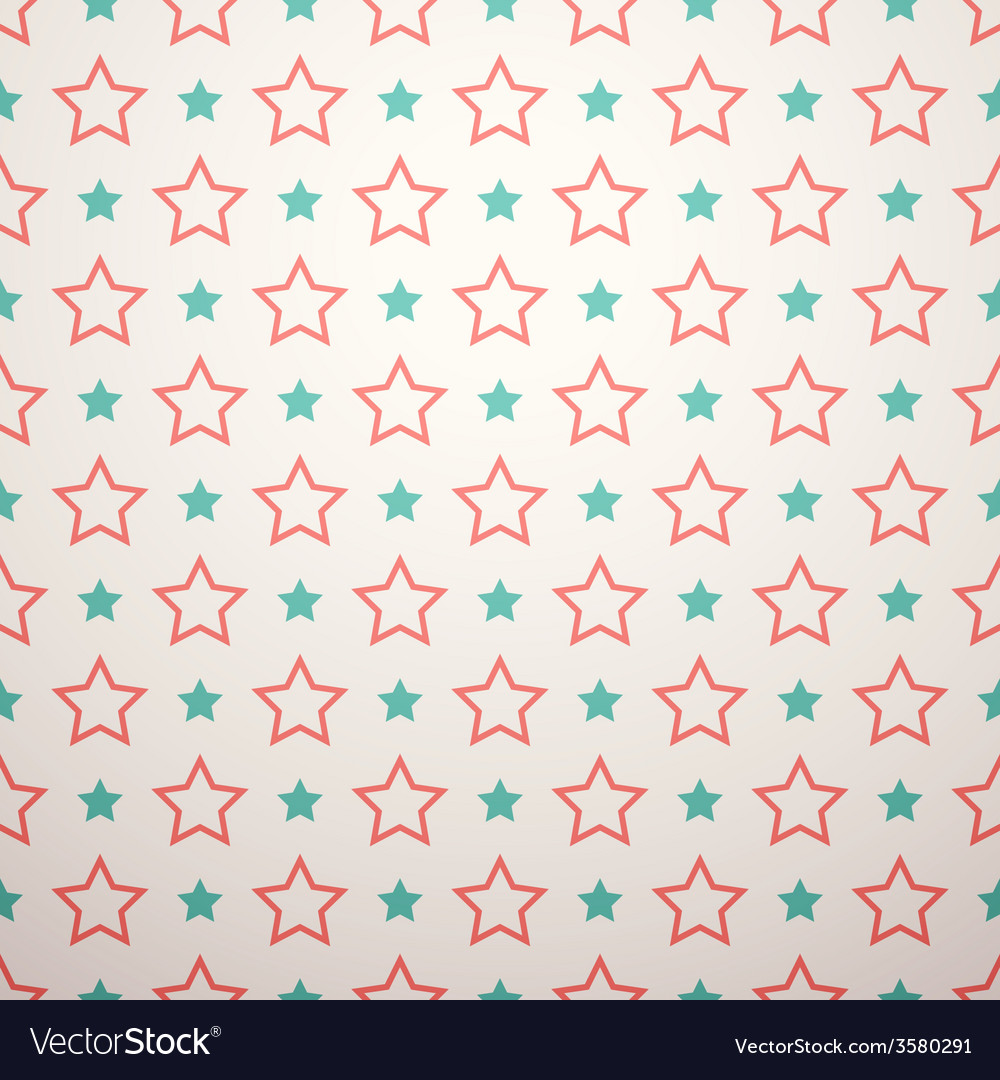 Retro different seamless pattern vector | Price: 1 Credit (USD $1)