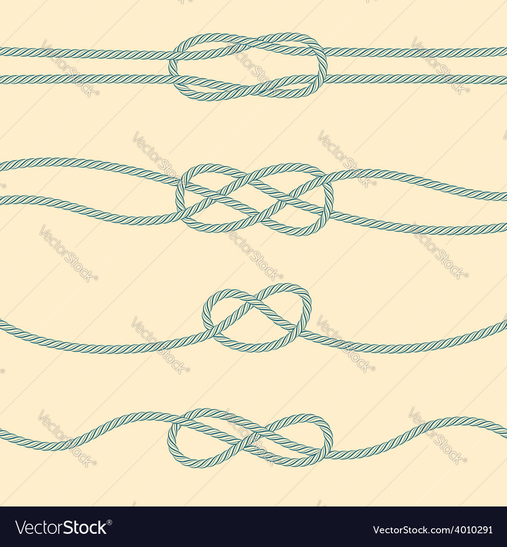 Set of marine knots vector | Price: 1 Credit (USD $1)