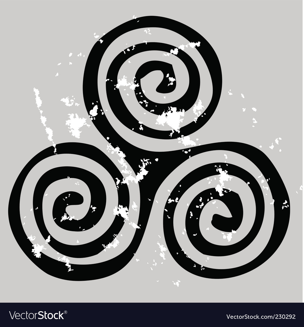 Celtic spiral vector | Price: 1 Credit (USD $1)