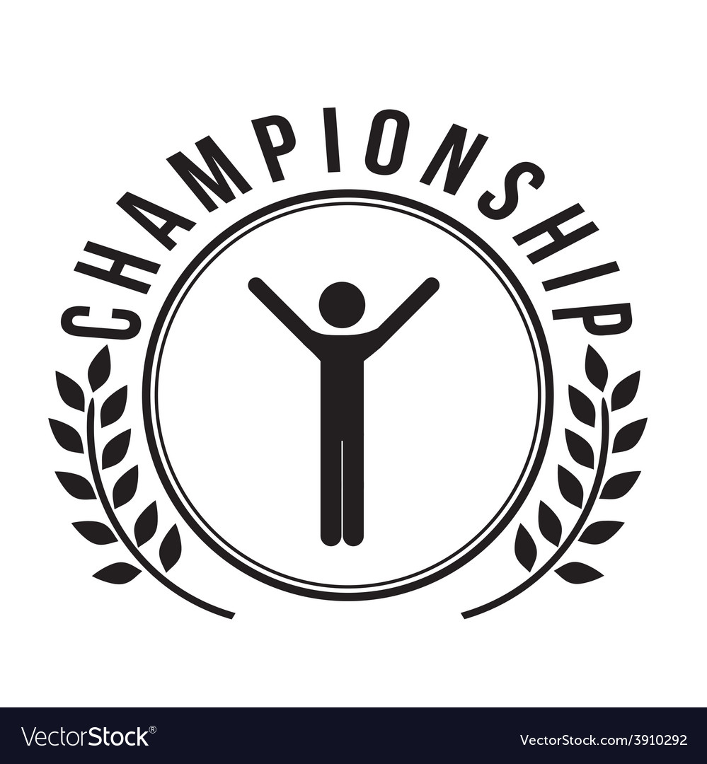 Championship design vector | Price: 1 Credit (USD $1)