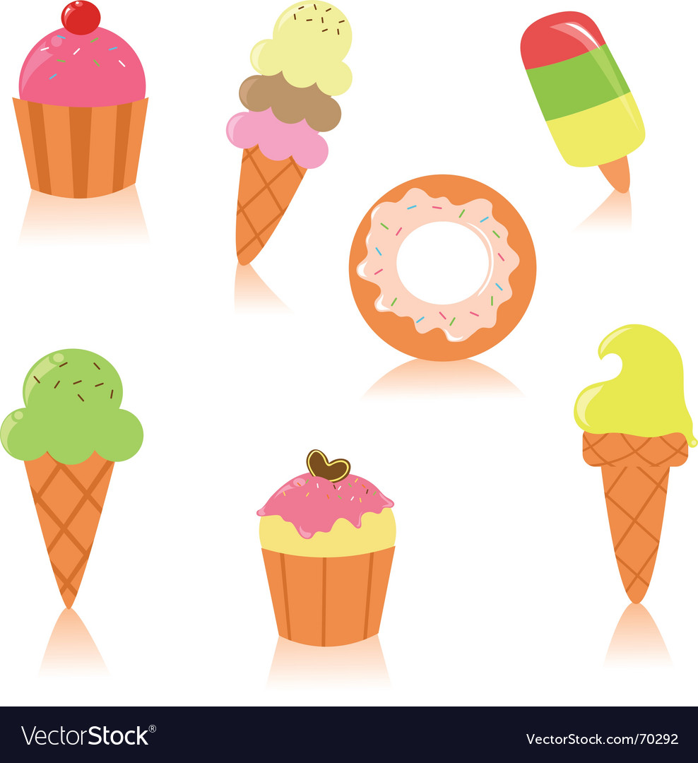 Cute pastry vector | Price: 1 Credit (USD $1)