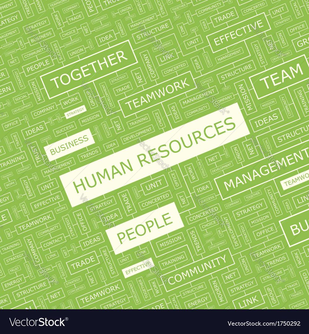Human resources vector | Price: 1 Credit (USD $1)