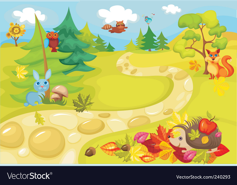 Wilderness vector | Price: 1 Credit (USD $1)
