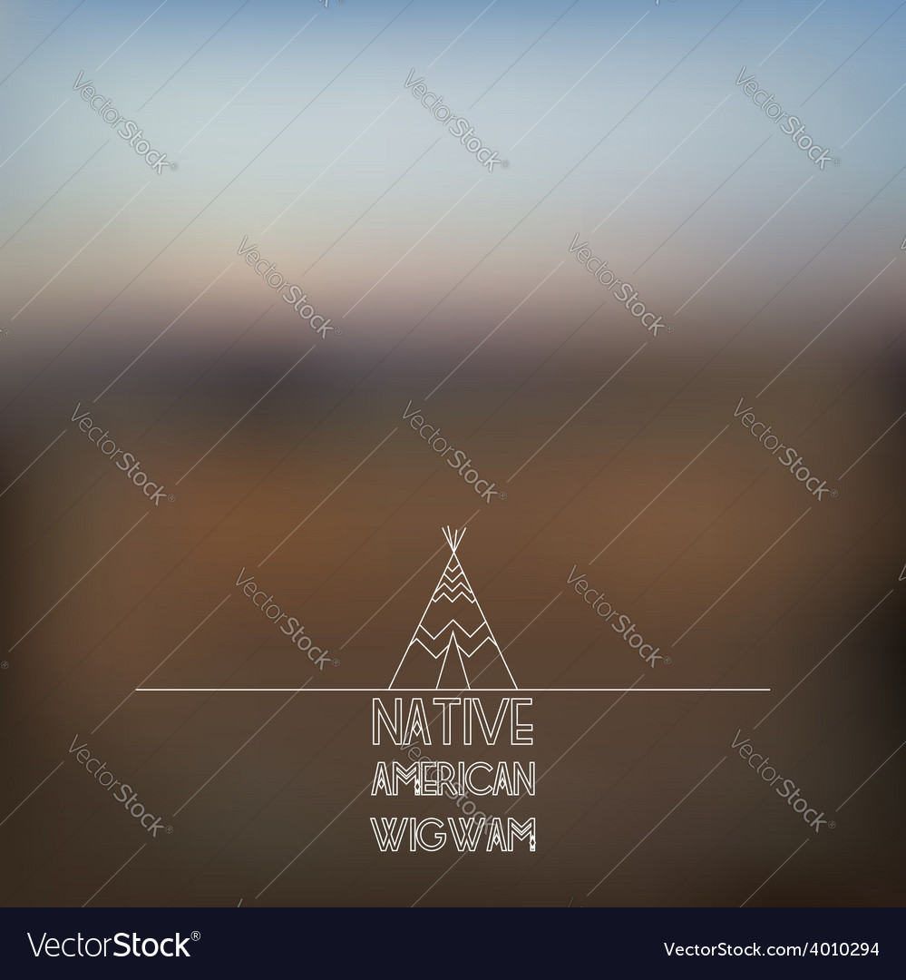 Blurred foggy landscape background vector | Price: 1 Credit (USD $1)