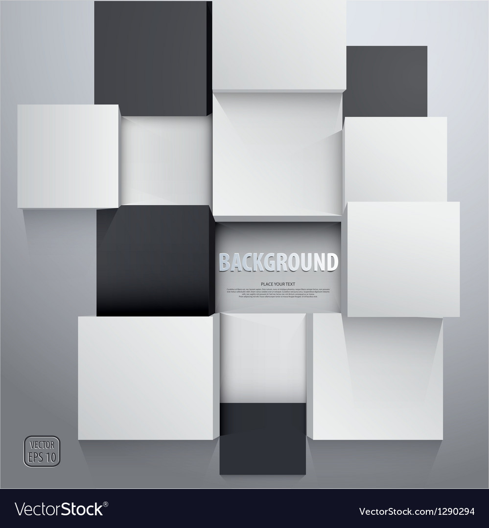 Cubic background vector | Price: 1 Credit (USD $1)